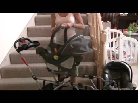 Stand And Go Stroller With Car Seat