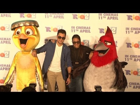 Sonakshi Sinha And Imran Khan At Rio 2 Trailer Launch