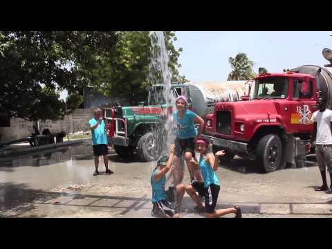 Haiti June 2014 Cold Water challenge 2