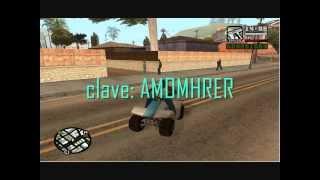 Trucos De GTA San Andreas