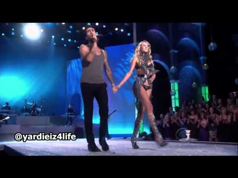 Maroon 5 - Moves Like Jagger, Victoria's Secret Fashion Show Live Performance