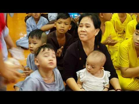 Chùa Phật Minh (Bến Tre) nuôi dưỡng trẻ em mồ côi