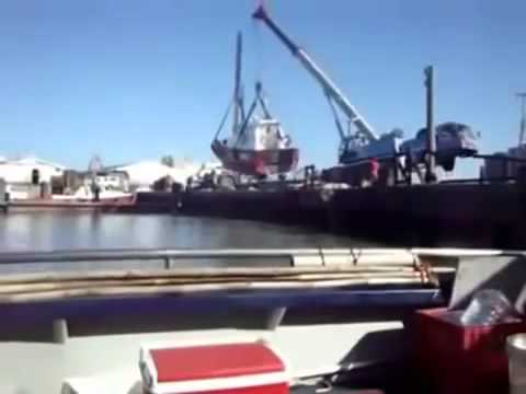 Compilation of accidents with boats on lifts and cranes - 2014 - JULY