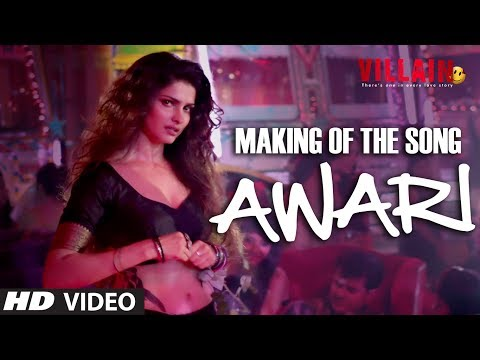 Making of Awari Video Song | Ek Villain | Sidharth Malhotra | Shraddha Kapoor