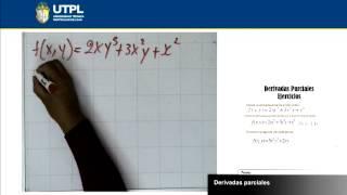 UTPL DERIVADAS PARCIALES [(ECONOMÍA)(CÁLCULO II)]