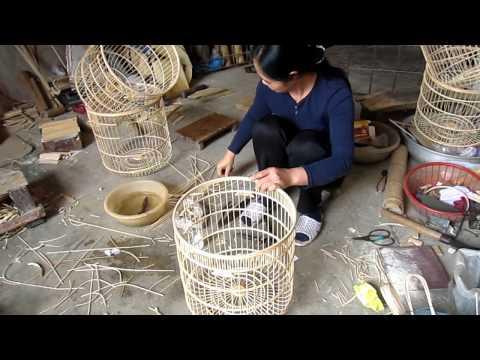 Làng vác ( làng nghề chuyên làm lông chim tại hà nội)