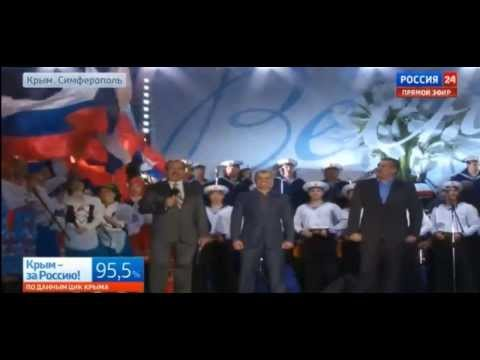 Russia National anthem crimea referendum