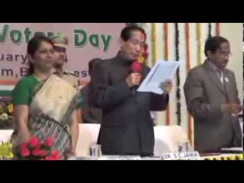 National Voters' Day, 2014 Celebration- ODISHA