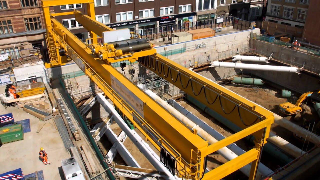 Jib Crane Testing : Gantry crane test