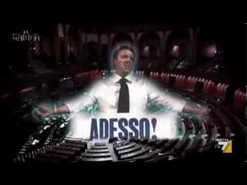 La gabbia - CHI E' VERAMENTE MATTEO RENZI? (30/10/2013)