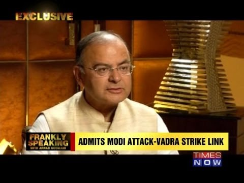 'Congress needed rap on the knuckles': Arun Jaitley