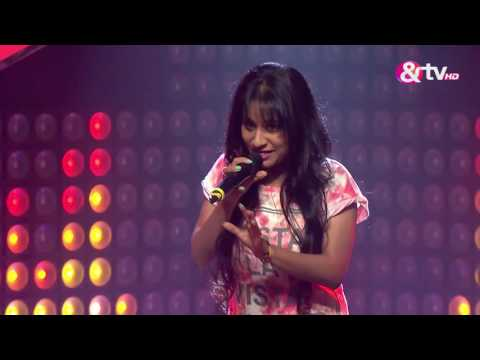 Shilpa Surroch - Performance - Blind Auditions Episode 2 - December 11, 2016 - The Voice India Season 2