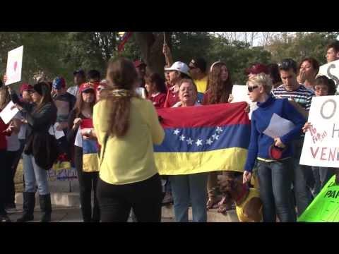 Venezuelan Protest in Austin, TX