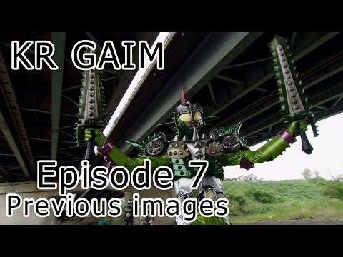Kamen Rider Gaim - Episode 7 (Previous Images)