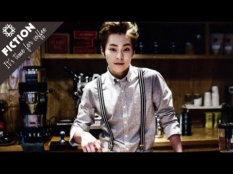 XIUMIN // IT'S TIME FOR COFFEE [ Trailer ], Xiumin making coffee