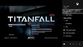 """Xbox One March update preview """"Party and Friends"""" fix video"""