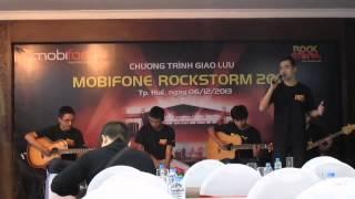 Nếu Em Hiểu - Cover by Hoang Anh Nguyen (Hop bao Rockstorm 2013 - Hue)