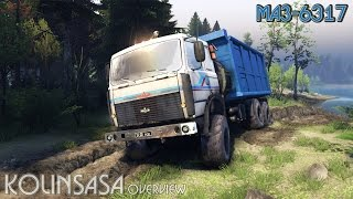 Spintires 2014 - МАЗ-6317