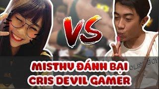 Foot Challenge: Misthy đánh bại Cris Devil Gamer || Tập 1