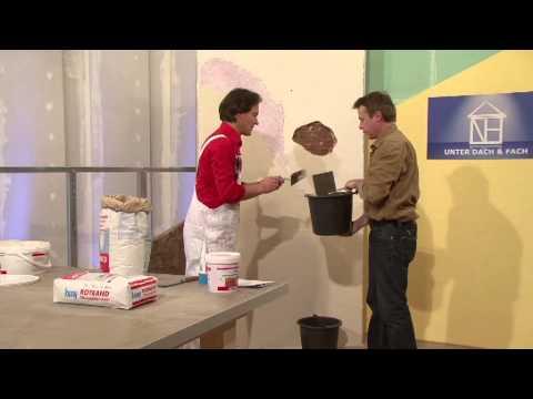 Knauf Bauprodukte - Unter Dach und Fach - Glatte Wande