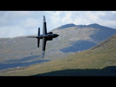 "Great Low Flying Jet Watching Holiday In Wales 2011 "" Mach Loop "" "" The Roundabout """