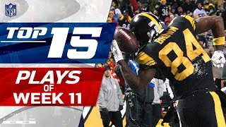 Top 15 Plays of Week 11 | NFL Highlights