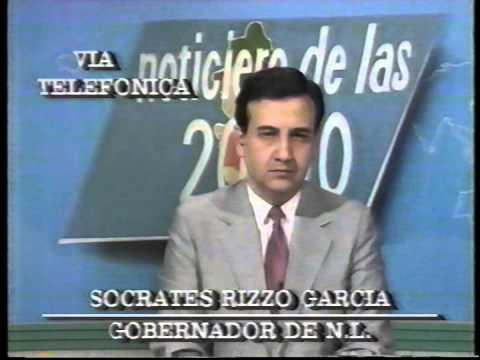 SOCRATES RIZZO SE SORPRENDE POR LA MUERTE DE COLOSIO