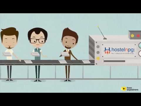 How to Find an Accommodation within Budget: Hostelnpg.com - Animated Video