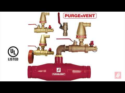 AGF PURGEnVENT 7910 Air Vent