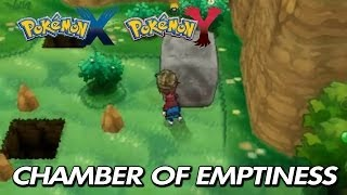 "Pokemon X & Y Where To Find ""Chamber Of Emptiness"