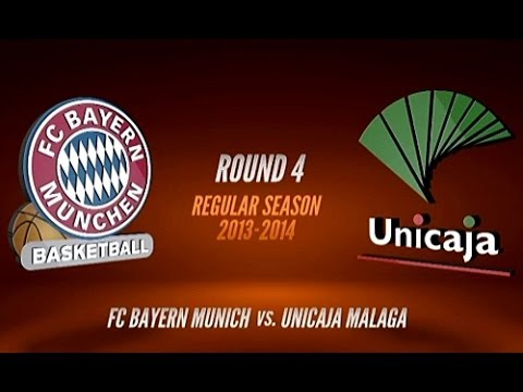 Basketball: FC Bayern München vs. Unicaja Malaga - Turkish Airlines Euroleague