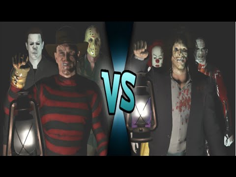 Freddy Vs Jason Vs Chucky Vs Michael Myers Vs Pinhead Leatherface Vs ...