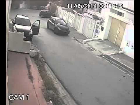 image vidéo كاميرا مراقبة : تصويرعملية سرقة في المنزه