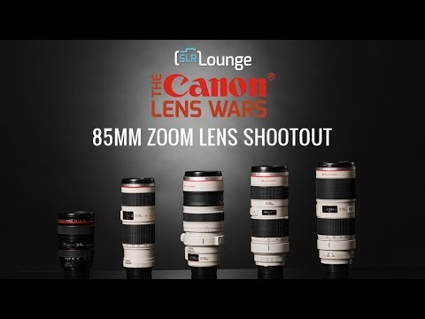 Canon 70-200 vs 85mm Focal Length Zooms - The SLR Lounge Canon Lens Wars Series Episode 11