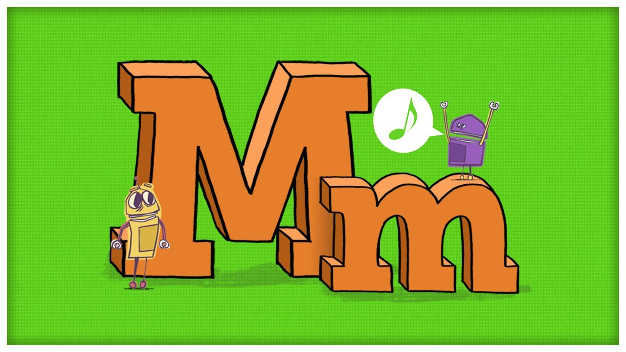 Abc song the letter m the mighty m by storybots youtube for S and m pictures