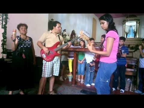 Grupo Musical de la Parroquia de San Agustín de Tapachula, Chiapas, 24 Diciembre 2012