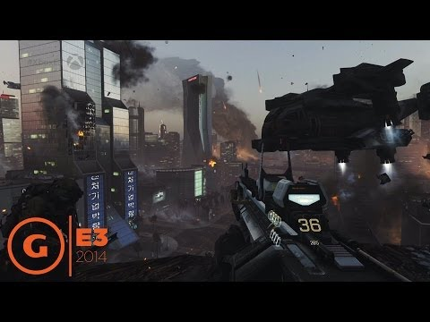 Call of Duty: Advanced Warfare - E3 2014 Gameplay Demo - Microsoft Press Conference