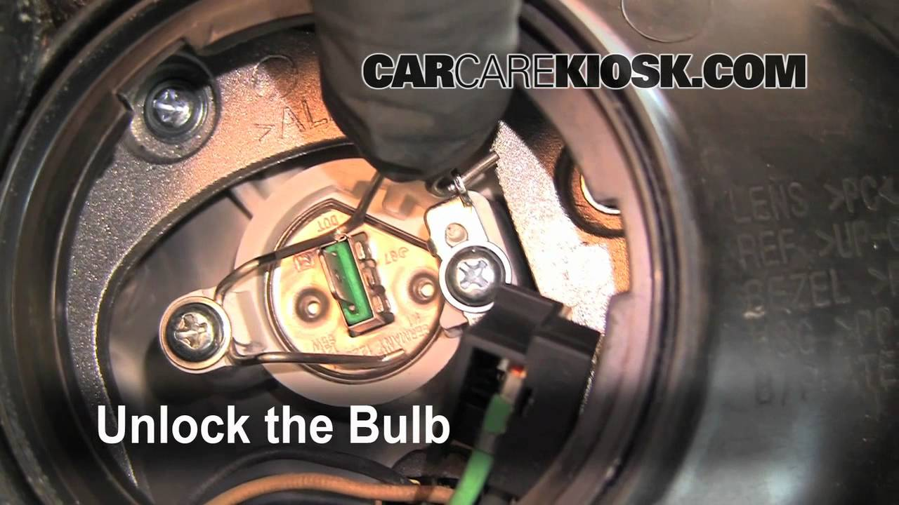 How To Change A Burnt Out Headlight Tail Light Turn Signal