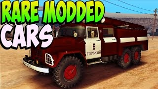 GTA 5 Glitches RARE MODDED CARS In GTA 5 Online Modded