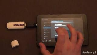 Ainol Novo 7 Aurora + 3G Modem Huawei E173 (external