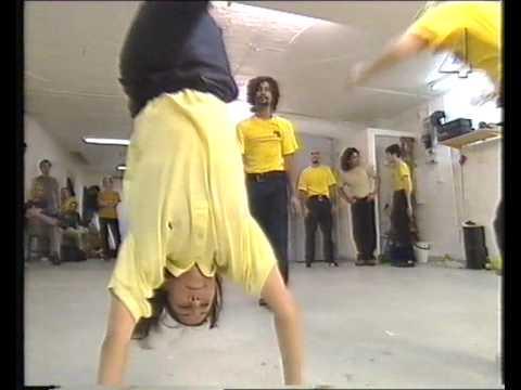 Capoeira Angola med Tilde de Paula