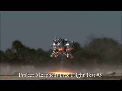Project Morpheus Fifth Free Flight Test At Kennedy Space Center, February 10, 2014