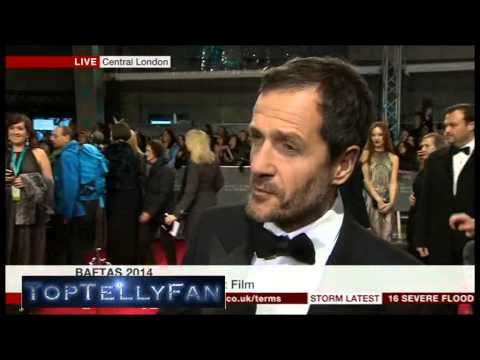 David Heyman (Gravity) - BAFTA 2014 red carpet interview (BBC News, 16.2.14)