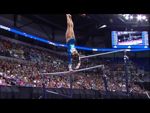 Bridget Sloan - Bars - 2012 Visa Championships - Sr. Women - Day 2