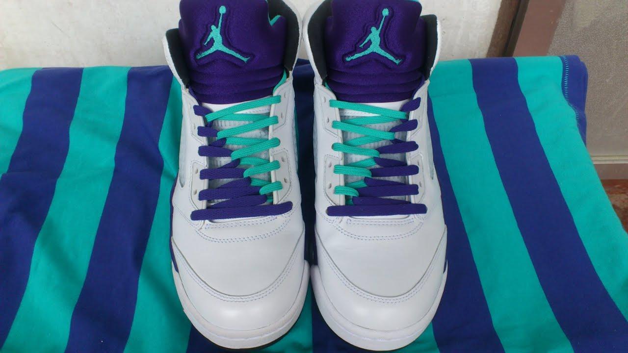 Jordan Min Colored Shoes