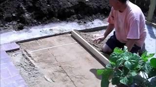 How To Build A Brick Paver Patio Part 3