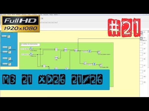 Elec21-M3 XD26-Programmation-Le pressostat manque d'eau de la pompe primaire solaire-ep21