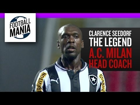 Clarence Seedorf, THE LEGEND -  A.C. Milan new Head Coach (Goals and Skills in Botafogo)