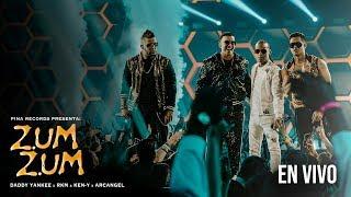 Daddy Yankee , Rkm & Ken-Y , Arcangel  🐝🍯 - Zum Zum [Live Premios Juventud]