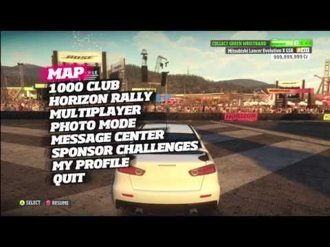How to mod Forza Horizon (Cr Money, Level Ristbands, Unicorn and Traffic Cars) 2014 *NEW*